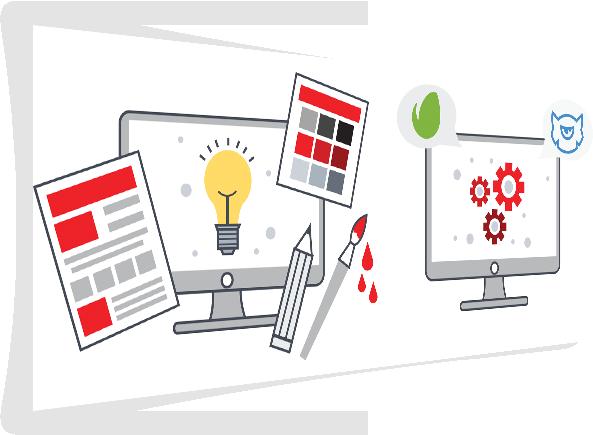 Servicii de webDesign grafic personalizat profesional