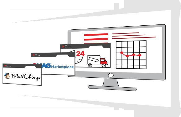 Integrare site cu API-uri (Emag MarketPlace, Mailchimp, Curieri etc.) Constructie site web in Bucuresti / Romania