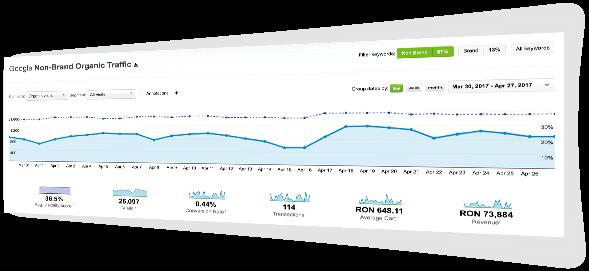 Cresterea traficului organic non-brand prin servicii profesionale de optimizare website