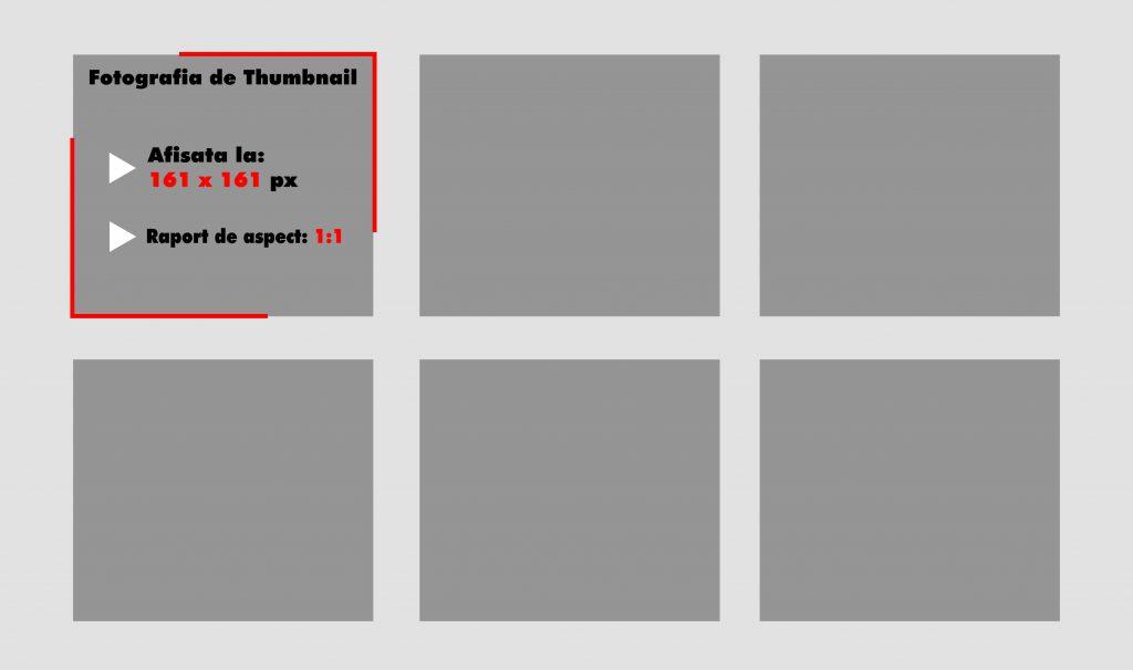 Dimensiuni poza de thumbnail